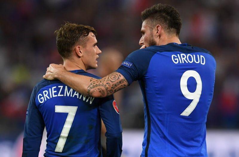 Antoine Griezmann dan Olivier Giroud