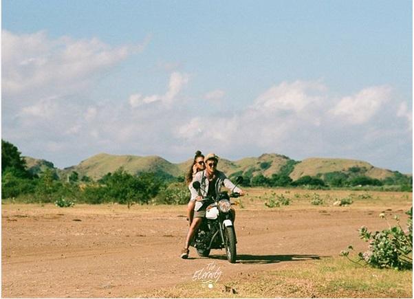 Berpetualang Foto Prewedding Dimas Anggara Dan Nadine Chandrawinata