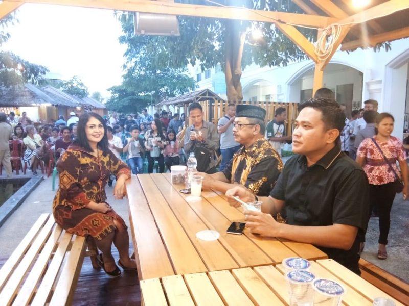 Rusda Mahmud Buka Bersama Umat Kristiani Kota Kendari (foto: Subhan Sabu/Okezone)
