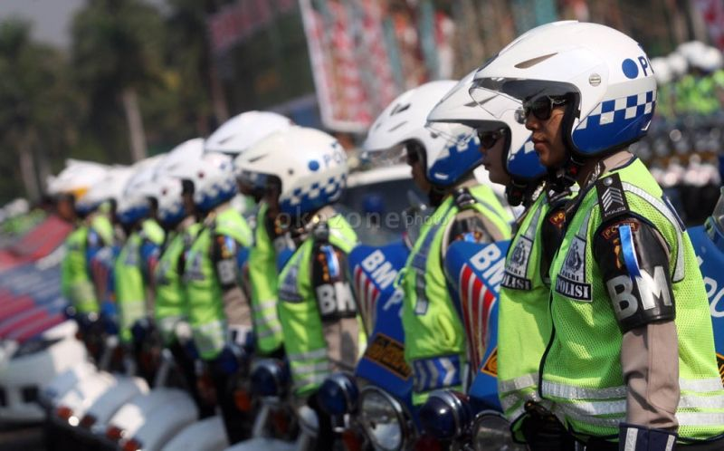 Operasi Ketupat Polri. (Foto: Okezone)