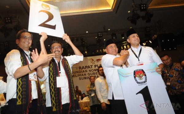 Paslon Gubernur Sumut