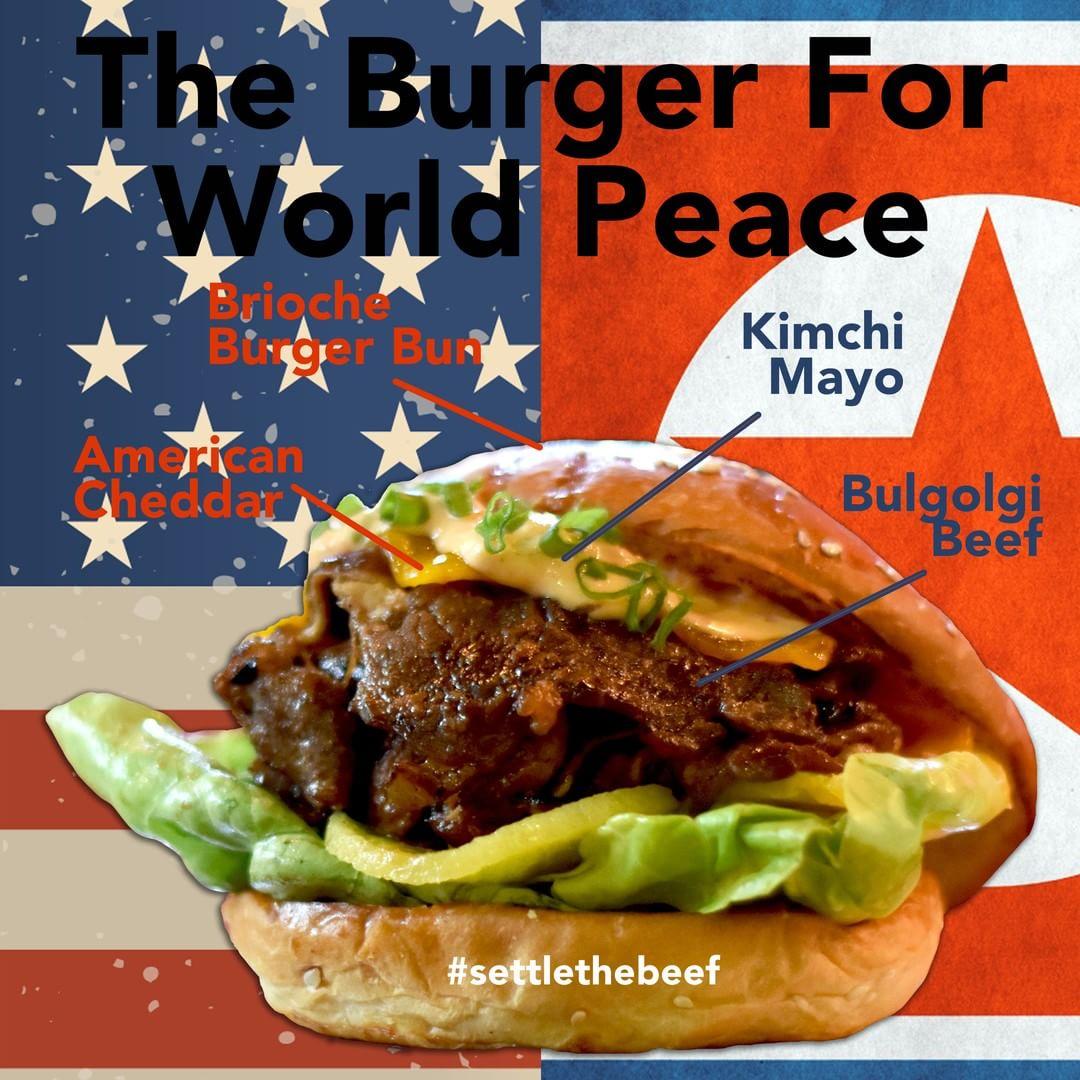 Burger Perdamaian