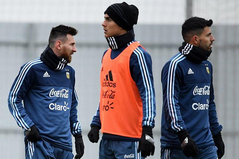 Messi, Dybala, Aguero