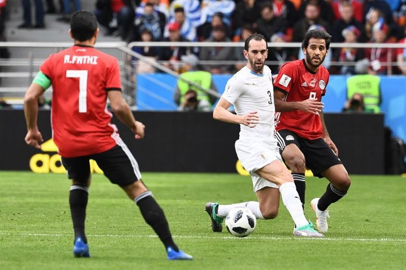 Mesir vs Uruguay (Foto: AFP)