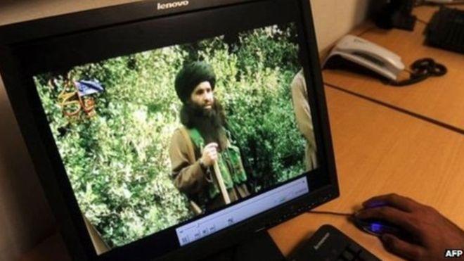 Sebuah Video yang Dikeluarkan Juli 2010 Dilaporkan Memperlihatkan Mullah Fazlullah (foto: AFP)