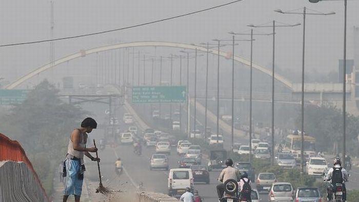 Polusi Udara di New Delhi (foto: AFP)
