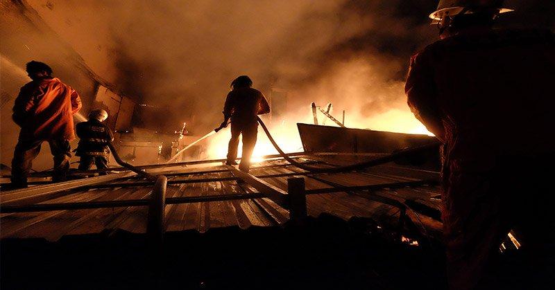 Ilustrasi kebakaran (Foto: Ist)