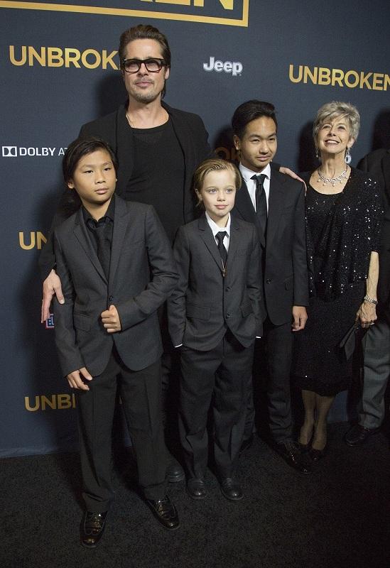 Brad Pitt dan anak-anak