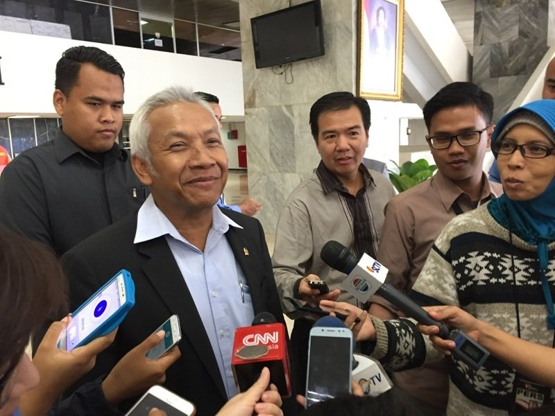 Wakil Ketua DPR RI Agus Hermanto. (Foto: Harits Tryan Akhmad/Okezone)