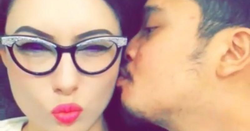 Derby Romero dan istri