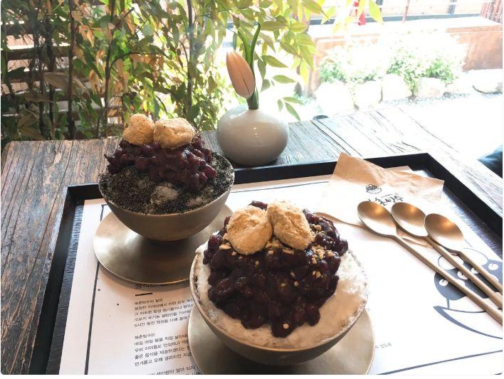 Patbingsoo (dessert 1)
