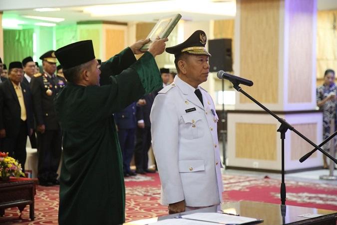 Eko Subowo dilantik jadi Penjabat Gubernur Sumut. (Foto: Dok Puspen Kemendagri)