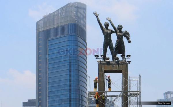 Patung Selamat Datang (Okezone)