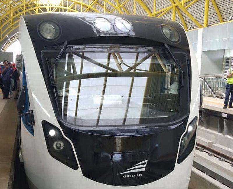 LRT Palembang (Foto Ditjen Perkeretaapian)