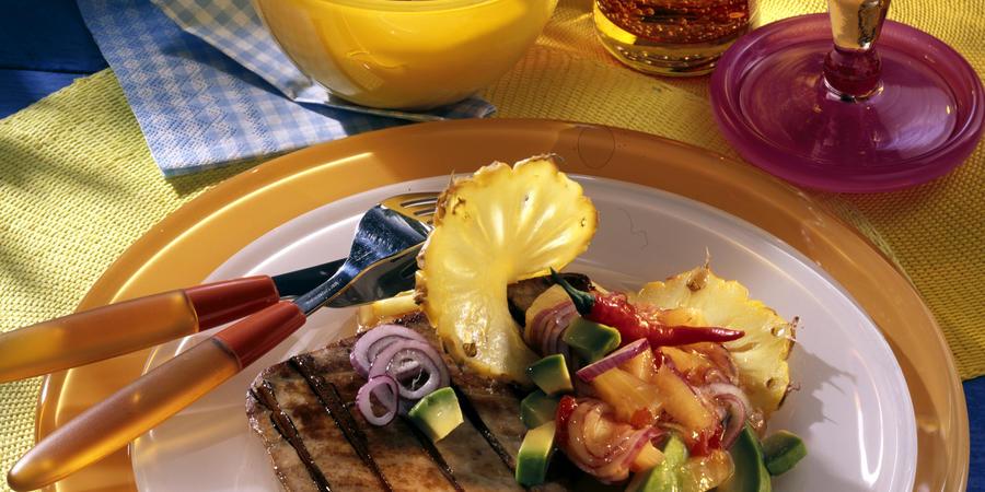 tuna pineapple (recipe plus)