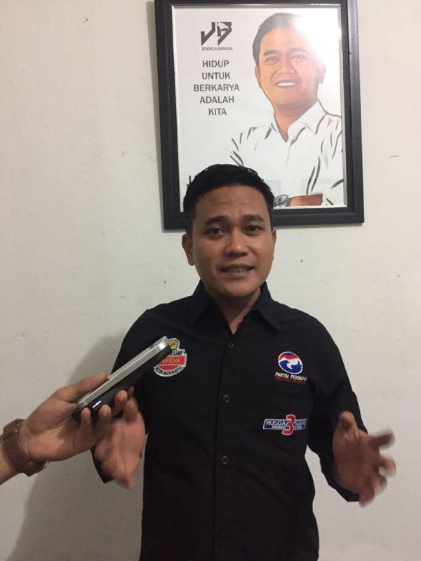 Wakil Ketua Tim Pemenangan RM-SK, Jaffray Bittikaka (foto: Subhan S/Okezone)
