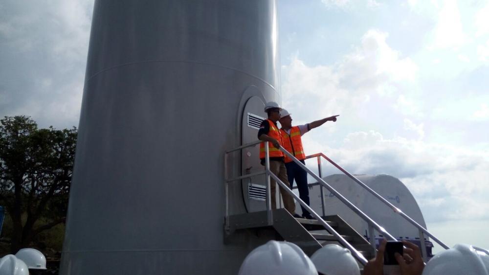 Pembangkit Listrik Tenaga Bayu (PLTB) Sidrap (Foto: Laman Resmi ESDM)