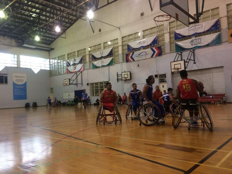 Timnas Basket Kursi Roda (Foto: Okezone/Hambali)