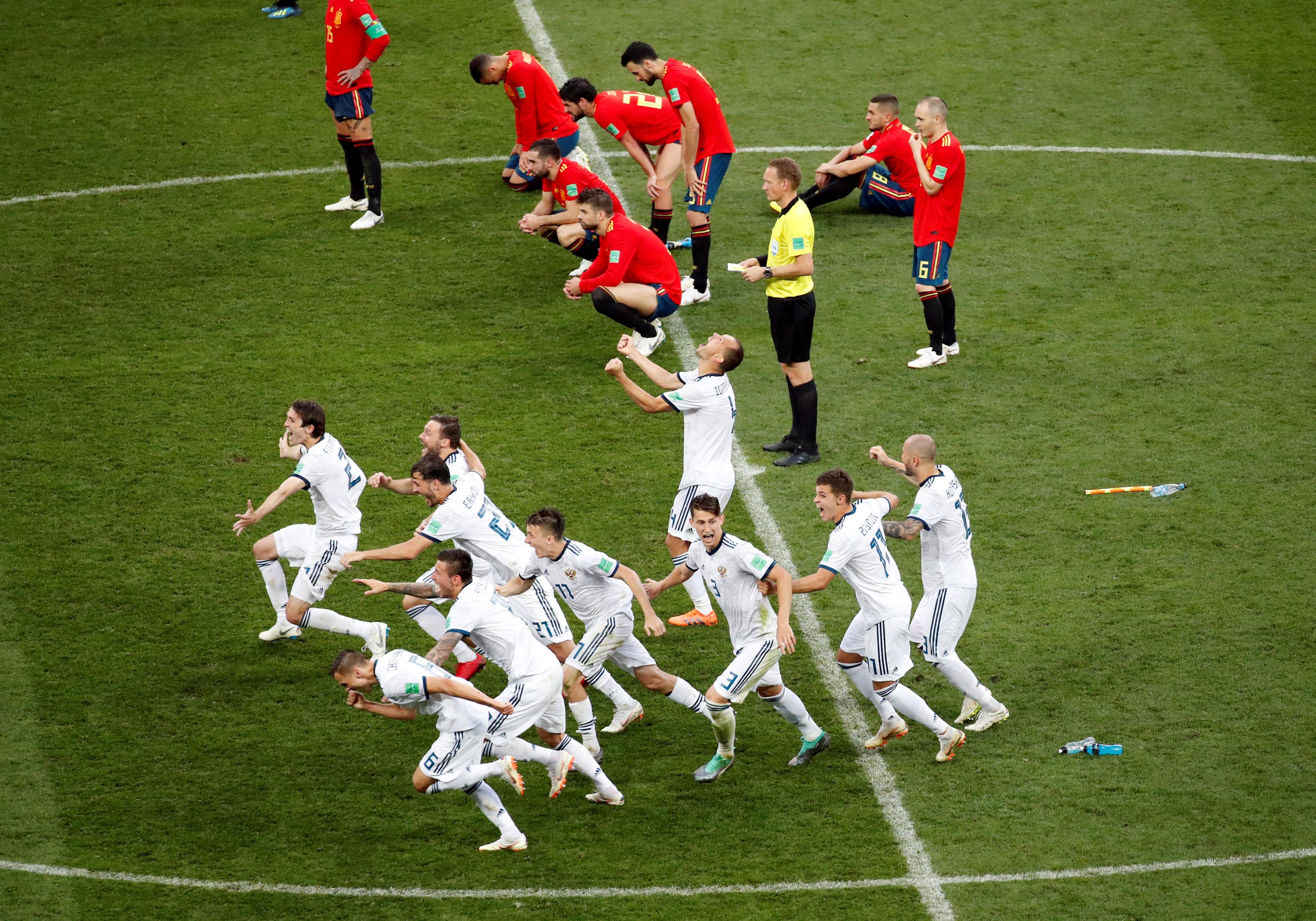 Modric Ka Rusia Singkirkan Spanyol Di Piala Dunia 2018