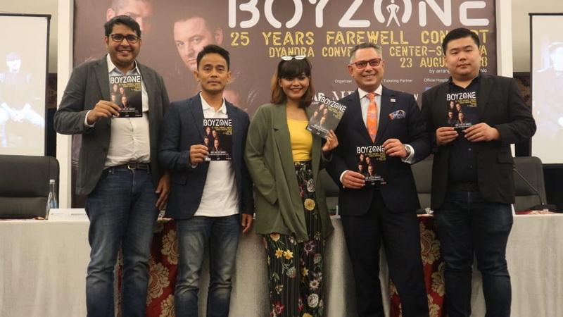 Jelang konser Boyzone, Foto: SMN