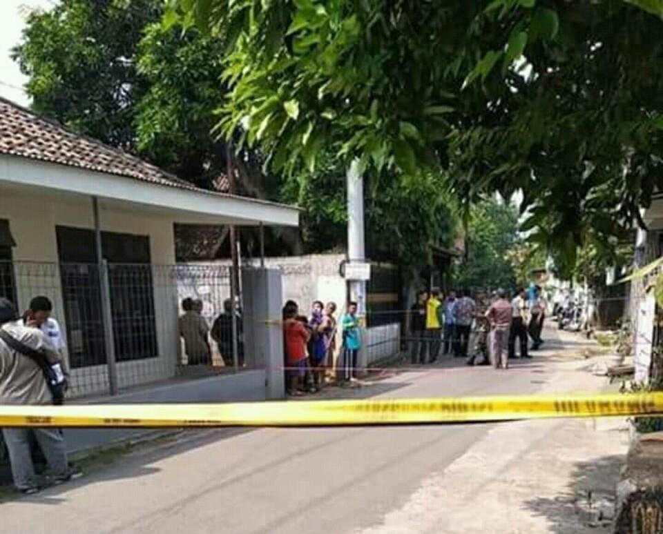 Ledakan di Pasuruan, Jawa Timur (foto: Ist)
