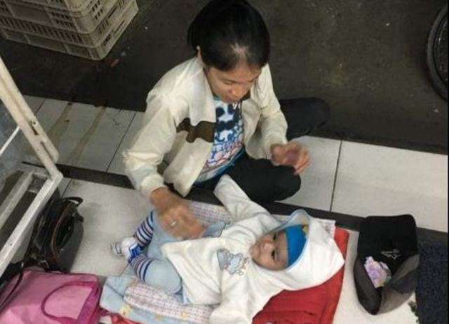 Pengemis Bawa Bayi