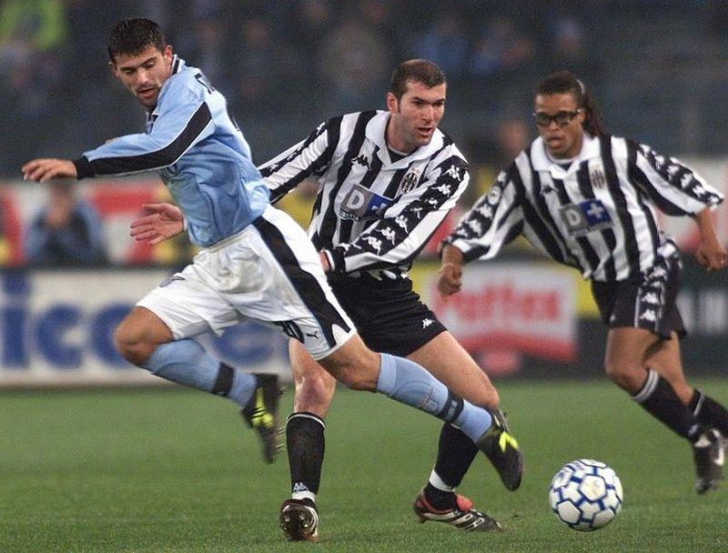 Dejan Stankovic, Zinedine Zidane, dan Edgar Davids