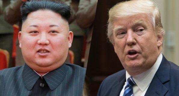 Kim Jong Un dan Trump