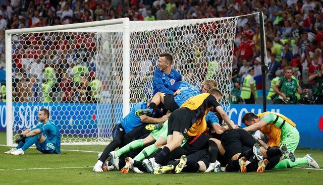 Timnas Kroasia (Foto: AFP)