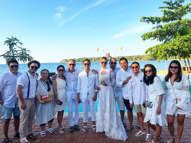 Pesta pernikahan Dimas Anggara dan Nadine Candrawinata