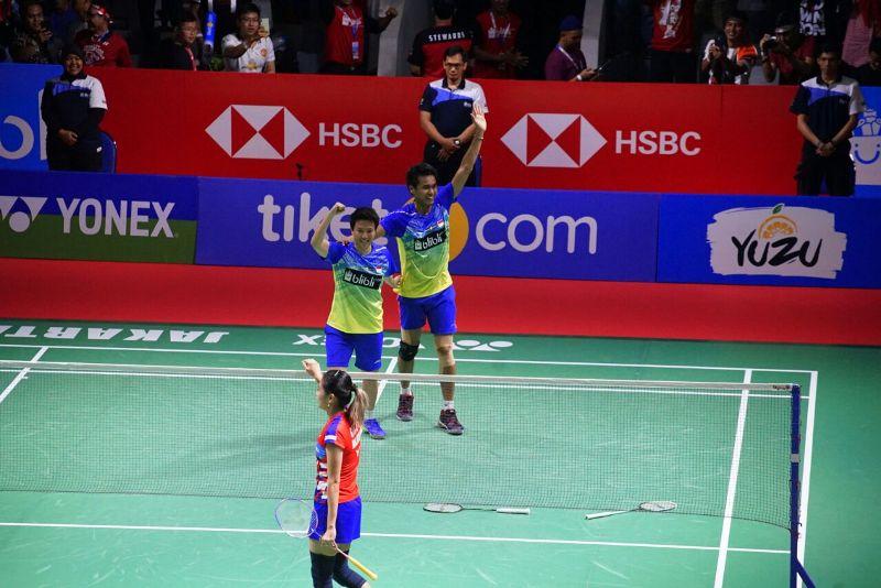 Tontowi Ahmad/Liliyana Natsir (Foto: Heru Haryono/Okezone)