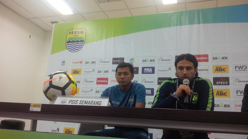 Pelatih PSIS, Annese (Foto: Oris Riswan/Okezone)
