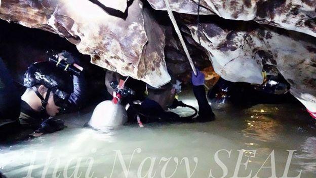 (Foto: Thai Navy Seals)
