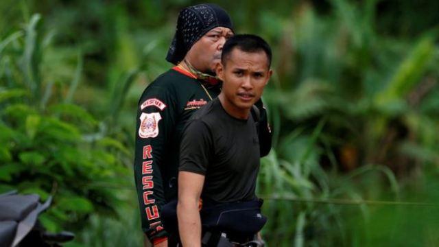 Tim penyelamat. (Foto: Reuters)