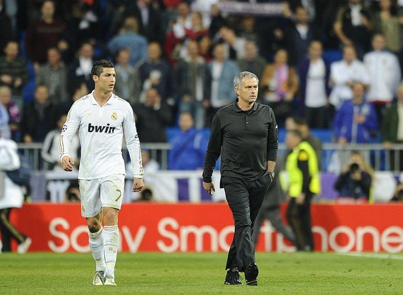 Cristiano Ronaldo dan Mourinho