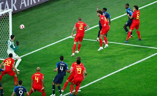 Prancis vs Belgia