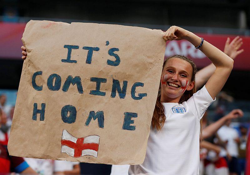 Fans Timnas Inggris