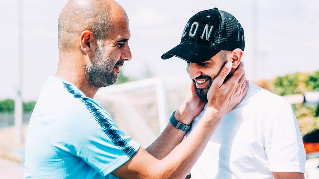 Guardiola dan Mahrez