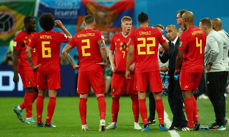 Timnas Belgia (Foto: Reuters)