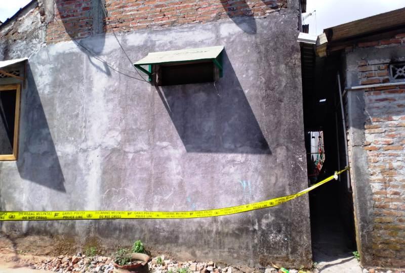 Rumah terduga teroris di Bantul. (Foto: Ist)