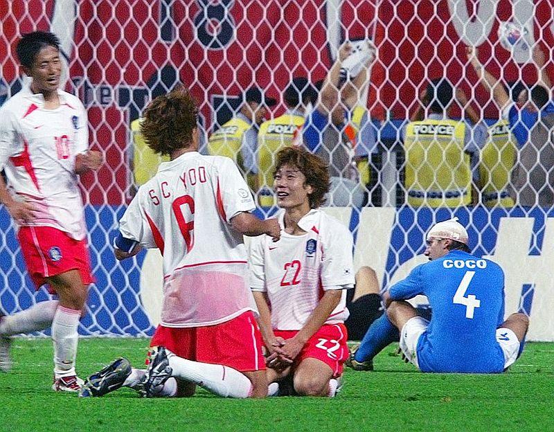 Korsel vs Italia 2002