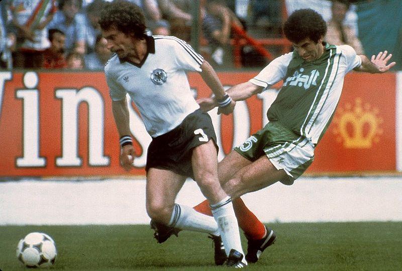 Jerman Barat vs Aljazair 1982