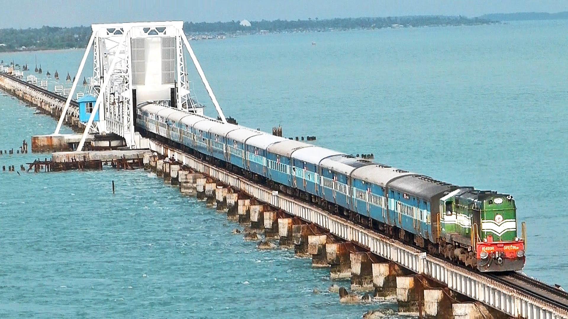 jalur kereta api di India