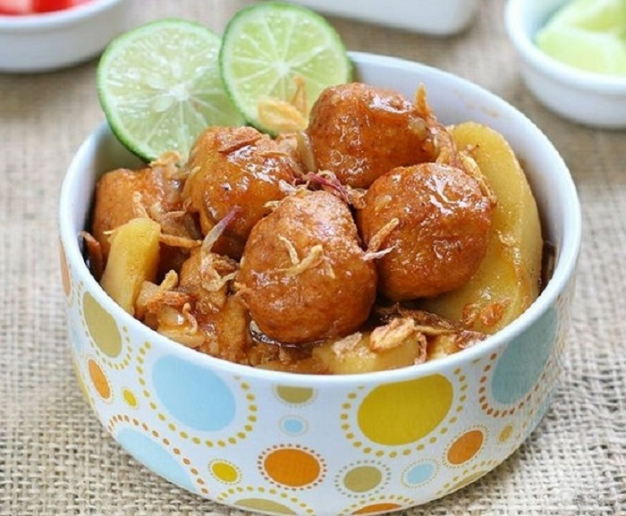 Semur Bakso Ayam