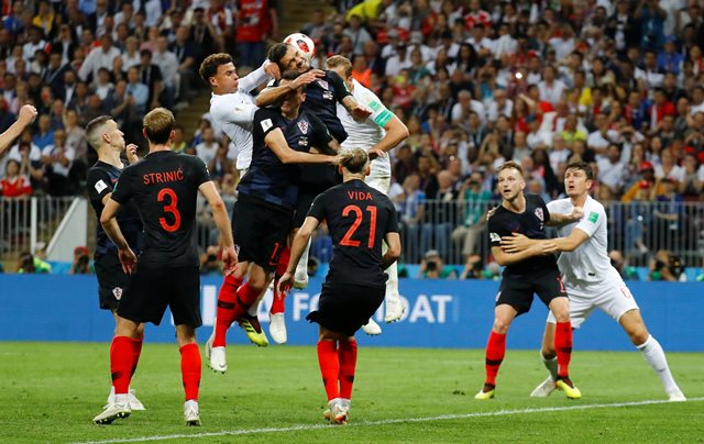 Inggris vs Kroasia (Foto: Reuters)