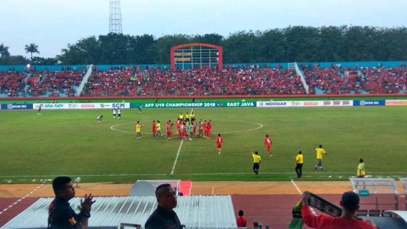 Laga Thailand vs Myanmar