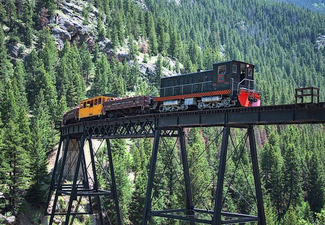 jalur kereta api di colorado