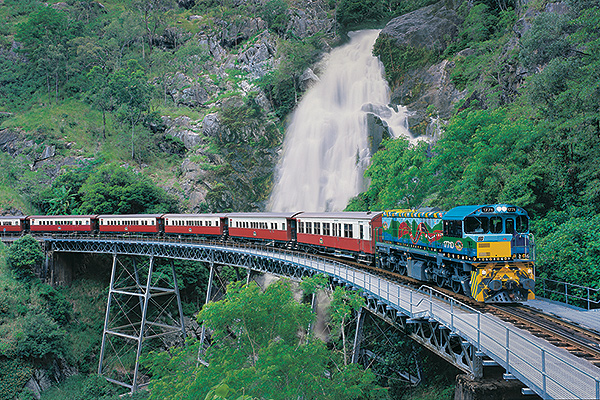 Jalur Kereta Api di Australia
