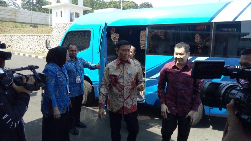 Peringatan Hari Anti Narkotika Internasional atau HANI 2018 di Balai Besar Rehabilitasi BNN, Bogor, Jabar (foto: Putra RA/Okezone)
