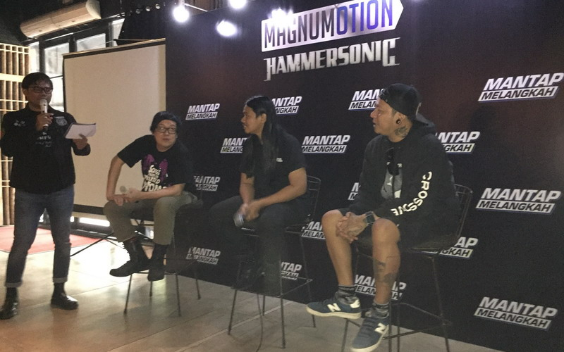 Konferensi pers Hammersonic 2018